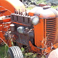 Another Angle Of Old Tractor by Pamela Pursel