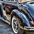 Another Angle On Vintage Mercedes Benz by Val Black Russian Tourchin