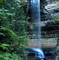 Another Munsing Waterfall by Bill Spengler