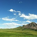 Another Side Of Bear Butte by Pamela Pursel