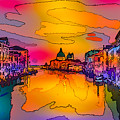 Another Surreal Venice Sunset by Ron Fleishman