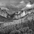 Ansel Adams Inspired Yosemite Tunnel View by Scott McGuire