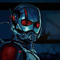 Ant Man Painting by Paul Meijering