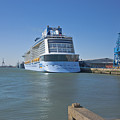Anthem Of The Seas Southampton by Terri Waters
