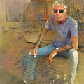 Anthony Bourdain 2 by Paulette B Wright