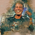 Anthony Bourdain 3 by Paulette B Wright