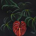 Anthurium by Roberta Landers