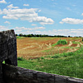 Antietam Farm Fence 2 by Karen Smith