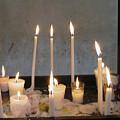 Antigua Church Candles by Kurt Van Wagner