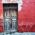 Antigua Door  by Derek Selander