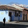Antigua Guatemala Streetscene by Robert Gerdes