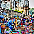 Antigua Market by Anthony C Chen