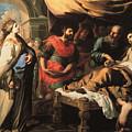 Antiochus And Stratonike by Bernardino Mei