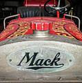 Antique 1930 Mack Bc-cd Fire Truck by Leon Winkowski
