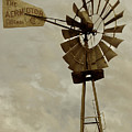 Antique Aermotor Windmill by Brooke Roby