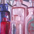Antique Bottles by Anna Roberts