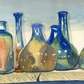 Antique Bottles by Marsha Elliott