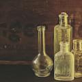 Antique Bottles by Sue Collura