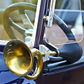 Antique Brass Car Horn by Jill Reger