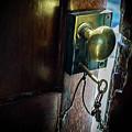 Antique Brass Doorknob by Tristan Flynn