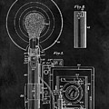 Antique Camera Flash Patent by Dan Sproul