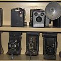 Antique Cameras by Sally Weigand