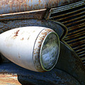Antique Car Headlight by Douglas Barnett