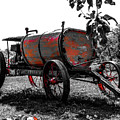 Antique Carriage With Sprayer Pump by Cristina Stefan