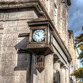 Antique Clock  Edenton North Carolina by Greg Hager