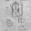Antique Coffee Percolator Patent by Dan Sproul