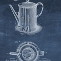 Antique Coffee Pot Patent by Dan Sproul