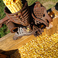 Antique Corn Sheller by Olivier Le Queinec