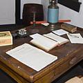 Antique Desk by Sally Weigand
