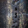 Antique Door Lock Detail by Elena Elisseeva