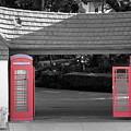 Antique European Phone Booths by Colleen Cornelius