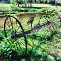 Antique Farm Equipment 3 by Jeelan Clark
