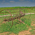 Antique Farm Rake by Gary Prill