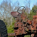 Antique Farmall Tractor 4a by Tamra Lockard