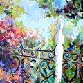 Antique Fence by Elaine Cory
