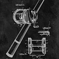 Antique Fishing Reel Patent by Dan Sproul