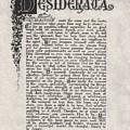 Antique Florentine Desiderata Poem By Max Ehrmann On Parchment by Desiderata Gallery