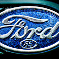 Antique Ford Badge by Olivier Le Queinec