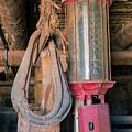 Antique Gas Pump by Jim West