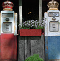 Antique Gas Pumps by Jost Houk