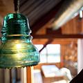 Antique Light Fixture 4 by Steven Jones