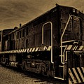 Antique Locomotive 1256 by Dale Kauzlaric