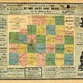 Antique Map Of The Mclean County - Business Advertisements - Historical Map by Studio Grafiikka