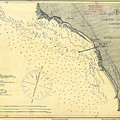 Antique Maps - Old Cartographic Maps - Antique Map Of Lompoc Landing, California, 1888 by Studio Grafiikka