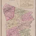 Antique Maps - Old Cartographic Maps - Antique Map Of Sudbury, Canada, 1875 by Studio Grafiikka