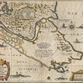Antique Maps - Old Cartographic Maps - Antique Map Of The Strait Of Magellan, South America, 1635 by Studio Grafiikka